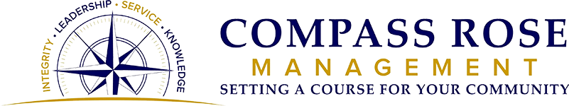 Compass Rose Management Logo